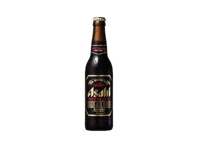 Asahi Super Dry Black Bottle 334mL