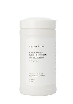 Max Bone max-bone Aloe & Oatmeal Cleansing Wipes
