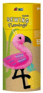 Avenir -  Sewing - Key Chain - Flamingo
