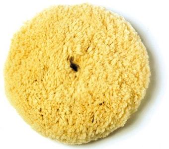 Buff Pad Wool 203mm Yellow
