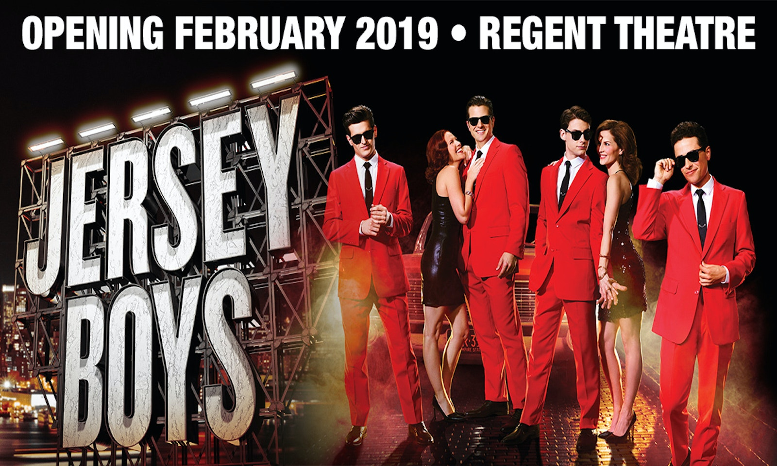International Blockbuster Jersey Boys is Coming to Melbourne