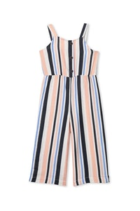 Milky - Stripe Playsuit - Sizes 8 to 12
