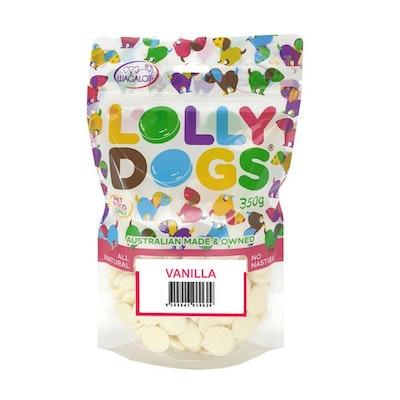 Lolly Dogs Vanilla Dog Treats 350g