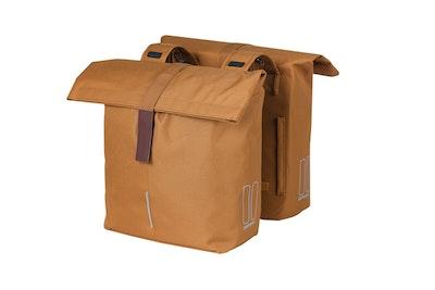 Basil City Double Bag Camel Brown 28-32L