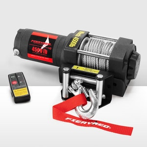 Wireless 4500LBS 12V Electric Winch Steel Cable