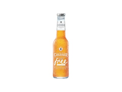 Vodka Cruiser Sugar Free Peach & Mango 275mL 4 Pack
