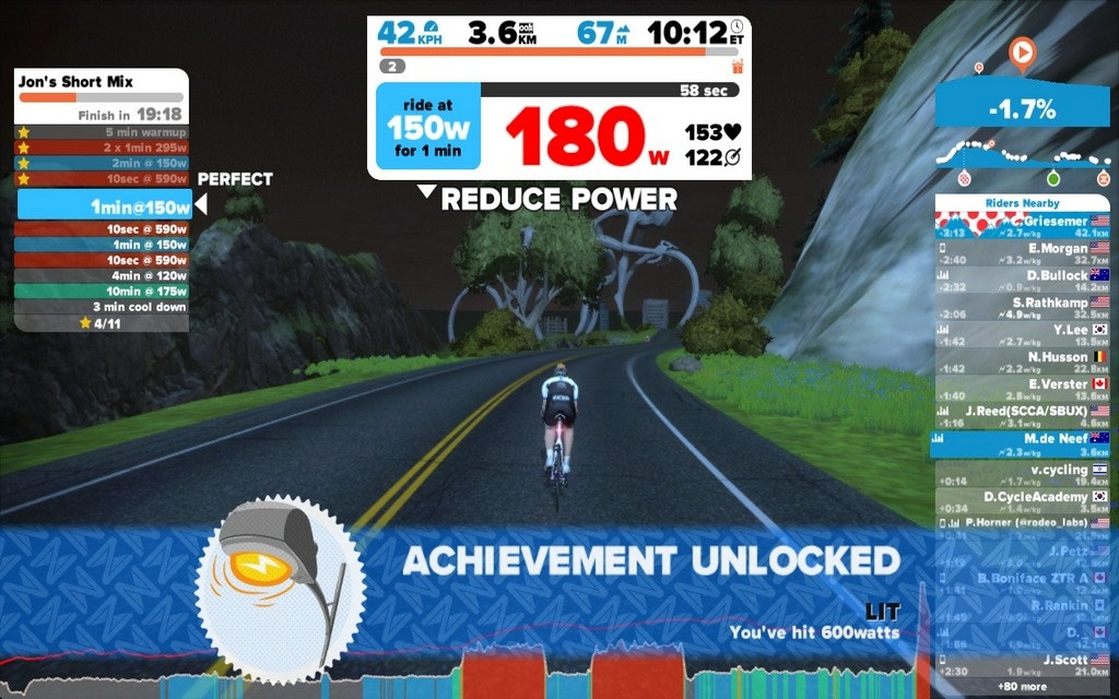 Zwift Workouts - Part Multiplayer Game, Part Social Network