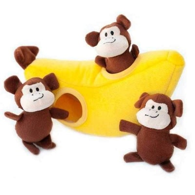 Zippy Paws Zippy Burrow - Monkey 'n Banana