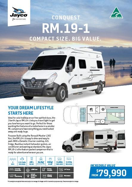 Conquest RM.19-1 Campervan