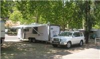 GoSee Jayco  Sterling 23 on shady sites at Brownhill Creek Caravan Park 7km  CBD Adelaide