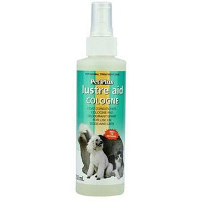 Pet Plus Lustre Aid Dogs & Cats Grooming Coat Conditioner Spray - 4 Sizes