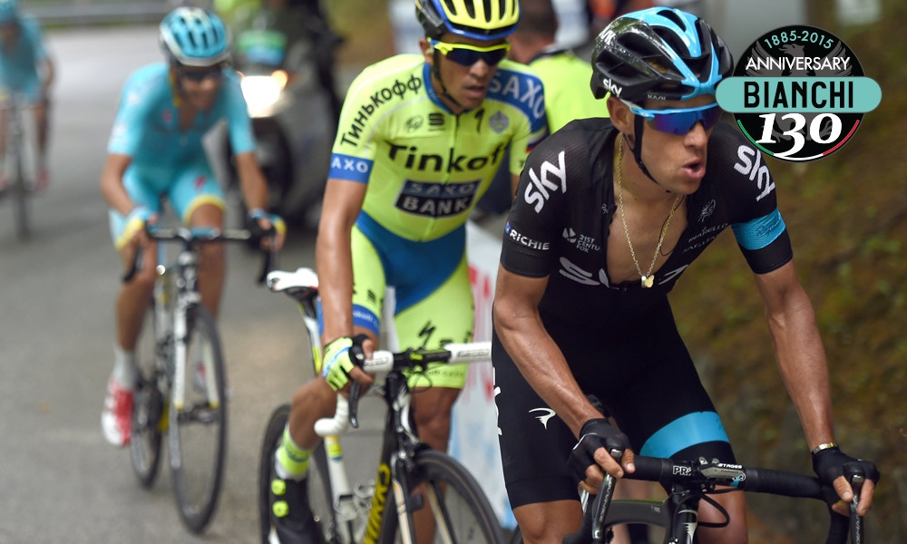 Contador Makes his Move