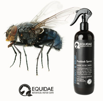 Equidae Paddock Spray 500ml - Natural Insect Repellent