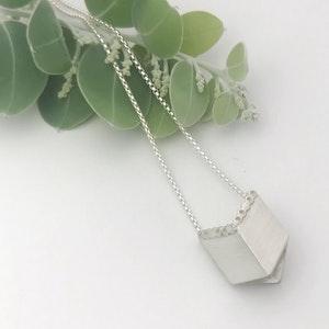 Square box neckpiece
