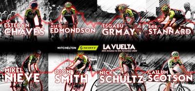 Chaves y Mitchelton-Scott Buscarán Maximizar sus Oportunidades en La Vuelta a España