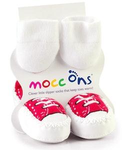 Sock Ons MOCC ONS Red Sneaker 24-36