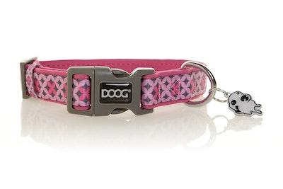 Doog Toto Collar Pink/Grey