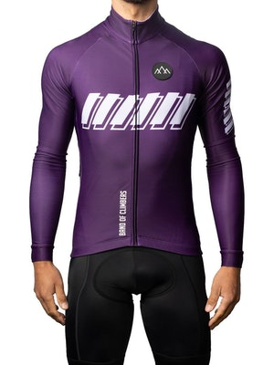 Band of Climbers ThermoAscent Long Sleeve Jersey - Violet