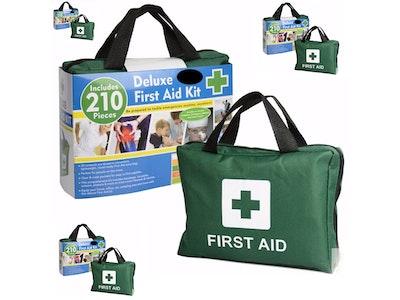 Boutique Medical 4x 210PCS EMERGENCY FIRST AID KIT Medical Travel Set Workplace Office ARTG BULK