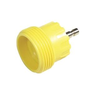 Radiator Cap Pressure Tester Adaptor - Yellow M52 Screw