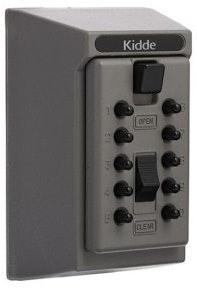 Kidde S5 Key Safe 5 key capacity in Titanium colour