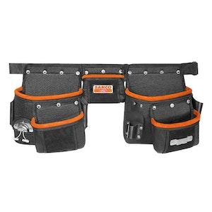 Nail Tool Bag Three Pouch Belt Set 4750-3PB-1