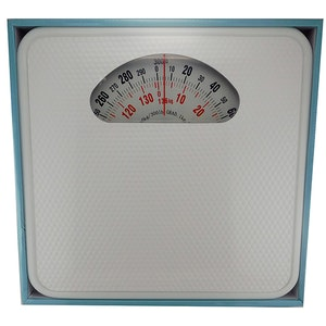 Health & Beauty Mechanical Bathroom Scale 136kg White