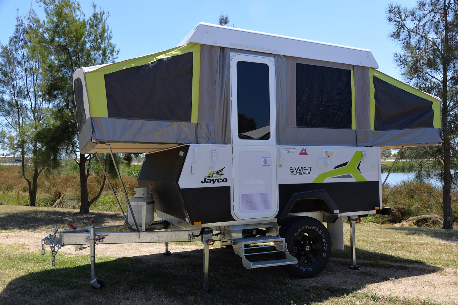 jayco swift outback off road camper trailers for sale in mulgrave. Black Bedroom Furniture Sets. Home Design Ideas