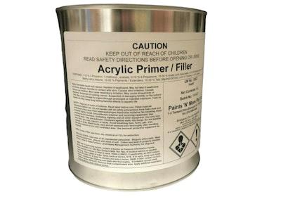 1K Acrylic Primer Filler 4Lt Ready For Use