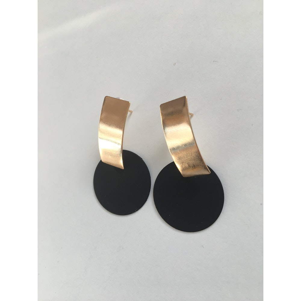 One of a Kind Club Black Strong Impact Earrings
