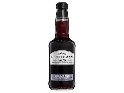 Jack Daniel's Gentleman Jack & Cola Bottle 330mL