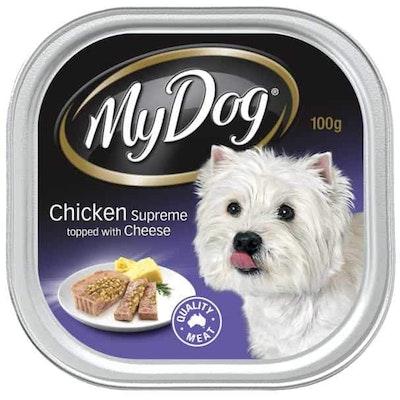 My Dog Chicken Supreme With Cheese Wet Dog Food 100G