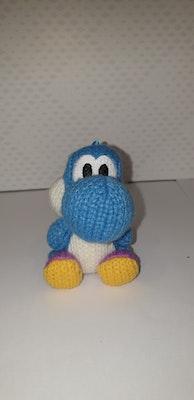 Yoshi's Woolly World Blue Yoshi Amiibo