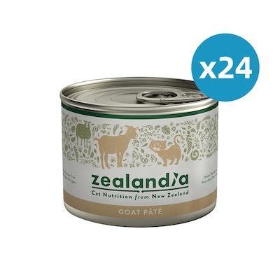 ZEALANDIA Goat Pate Cat Wet Food 185g x 24