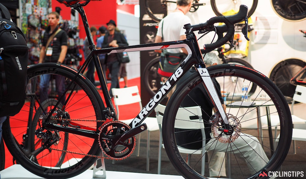 Argon 18 Gallium Disc InterBike 2016 CyclingTips 43074  1