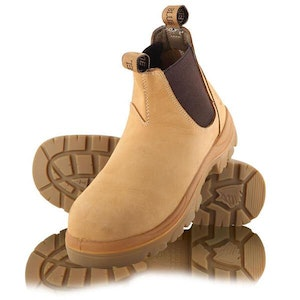 Steel Blue Hobart Ankle-Height Elastic-Sided Boot Wheat
