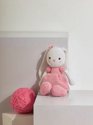 Chippico Australia  Camellia the Pinkie Bunny Crochet Stuffed Animal