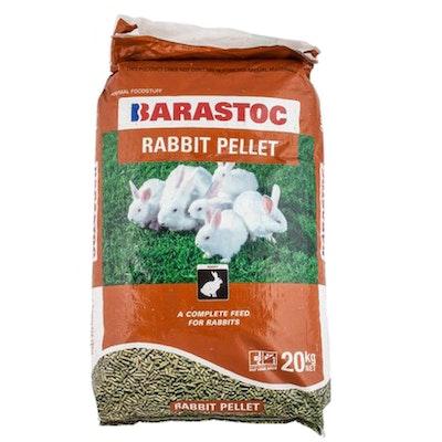 Barastoc Complete Breeding Lactating Rabbits Feed Pellets 20kg
