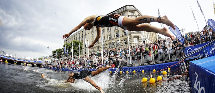 ITU World Triathlon Start