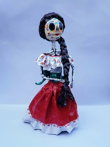 Liliz Lu Studio Mexican skull The Catrina and The day of the dead very Mexican style, full of color and culture. coco