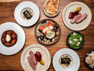 Matilda's 'The Local' Six Course Degustation. Serves 2, $90 per person