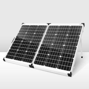 160W 12V Mono Folding Solar Panel Kit