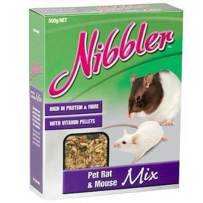 Nibbler Rat & Mouse Mix 500g x 6