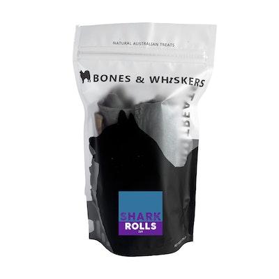Bones & Whiskers Shark Skin Rolls 2 pack