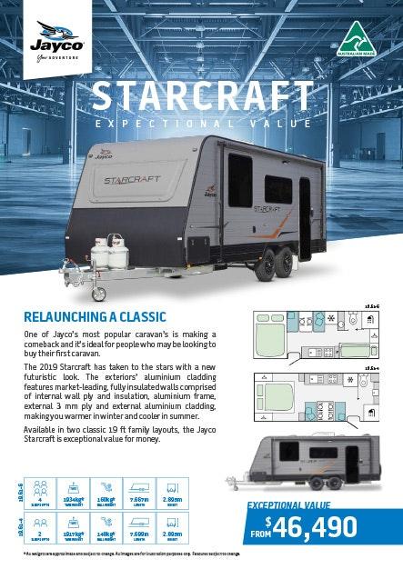 Jayco Starcraft Caravan