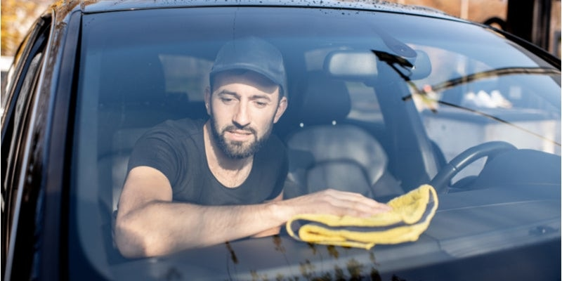 Don't Skip Cleaning the Inside of your Windshield