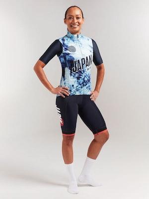 Black Sheep Cycling Women's Essentials TEAM Vest - Shibori