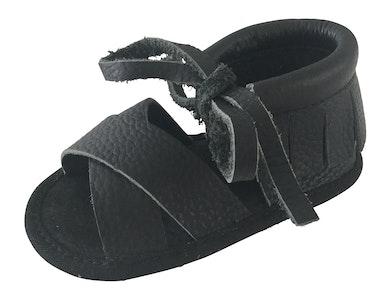 Wildchase Boho Sandals - 100% Leather - Black