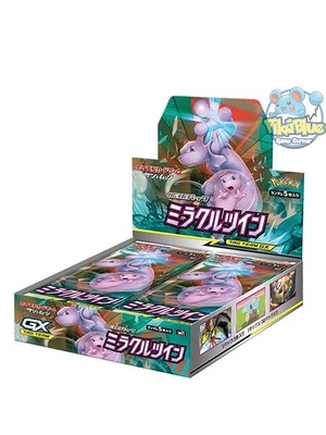 Miracle Twin Sealed Japanese Booster Box [Pokemon] sm11