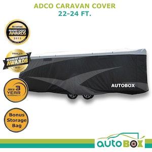 ADCO 22-24 ft Premium Caravan Cover Suit Jayco Silverline 21.65 - vans 6.7-7.3M